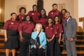 Claflin University delegation with Rep. Rita Allison