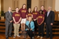 Erskine College delegation with Rep. Rita Allison