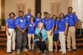 Morris College delegation with Rep. Rita Allison