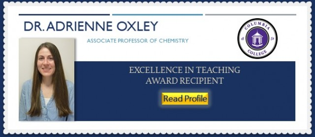 Dr. Adrienne Oxley, Columbia College