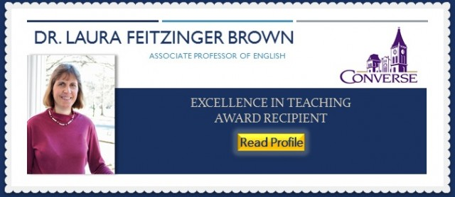 Dr. Laura Feitzinger Brown, Converse College