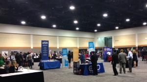 Students network at the 2015 Career Connections Event
