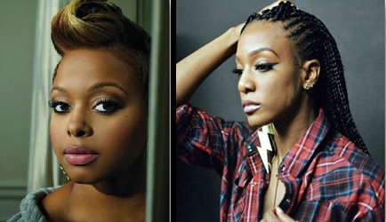 Grammy Award-winning R&B and soul singer/songwriter Chrisette Michele (L) & Contemporary R&B artist JoiStaRR  (R)