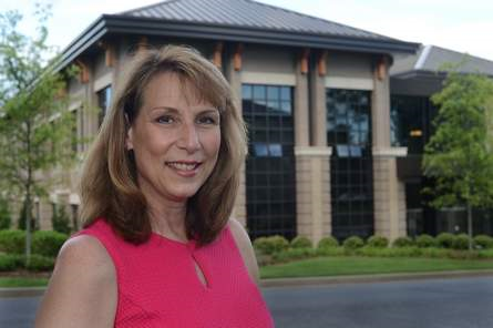 After six years as President of Spartanburg Methodist College, Dr. Colleen Keith is moving on to be president of Pfeiffer University. Keith on campus on Thursday June 4, 2015.