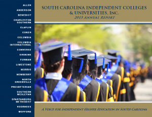 Cover Page -- SCICU 2015 Annual Report