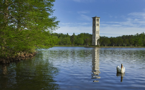 Grant from Duke Energy contributes to Furman's ongoing lake restoration efforts.