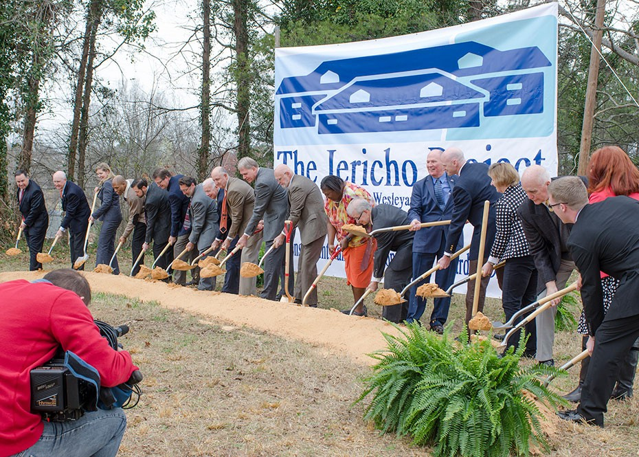 Ground Breaking for Southern Wesleyan's Jericho Project for Special Needs Students