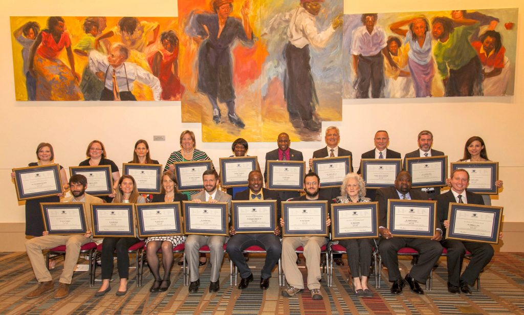 2017 SCICU Excellence In Teaching Award Recipients