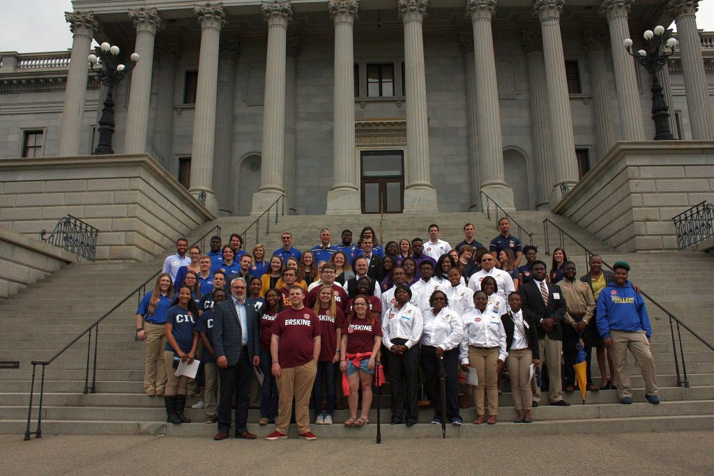 SCICU Students at 2017 Independent College / University Day