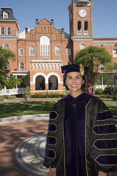 Dr. Krista Newkirk was installed as the tenth president of Converse College on April 21, 2017.