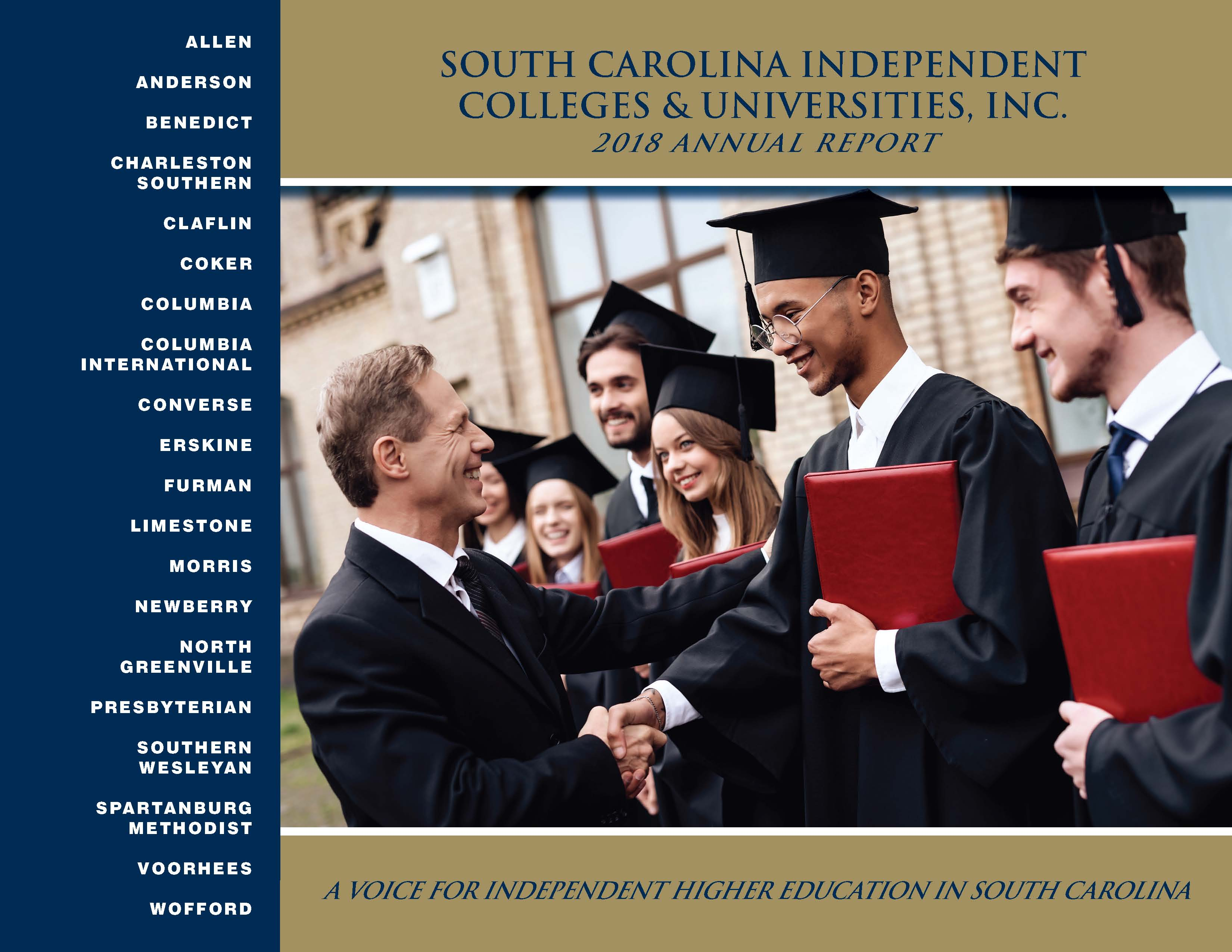 SCICU Annual Report - 2017-2018