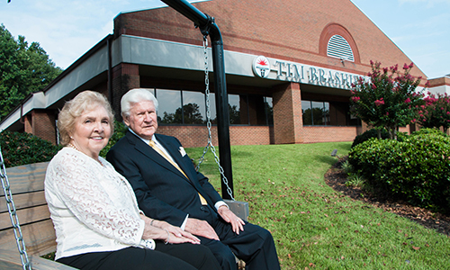 Dr. T. Walter and Christine Brashier continue as generous supporters of North Greenville University.