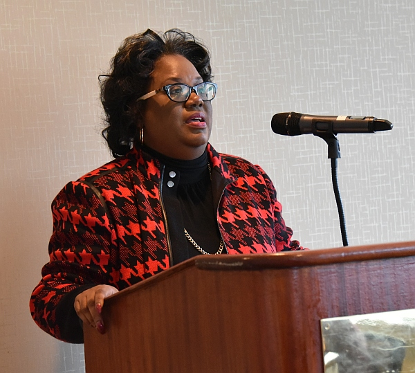 Rep. Chandra Dillard urged everyone to keep tuition affordability front and center during the 2019 session of the SC General Assembly.