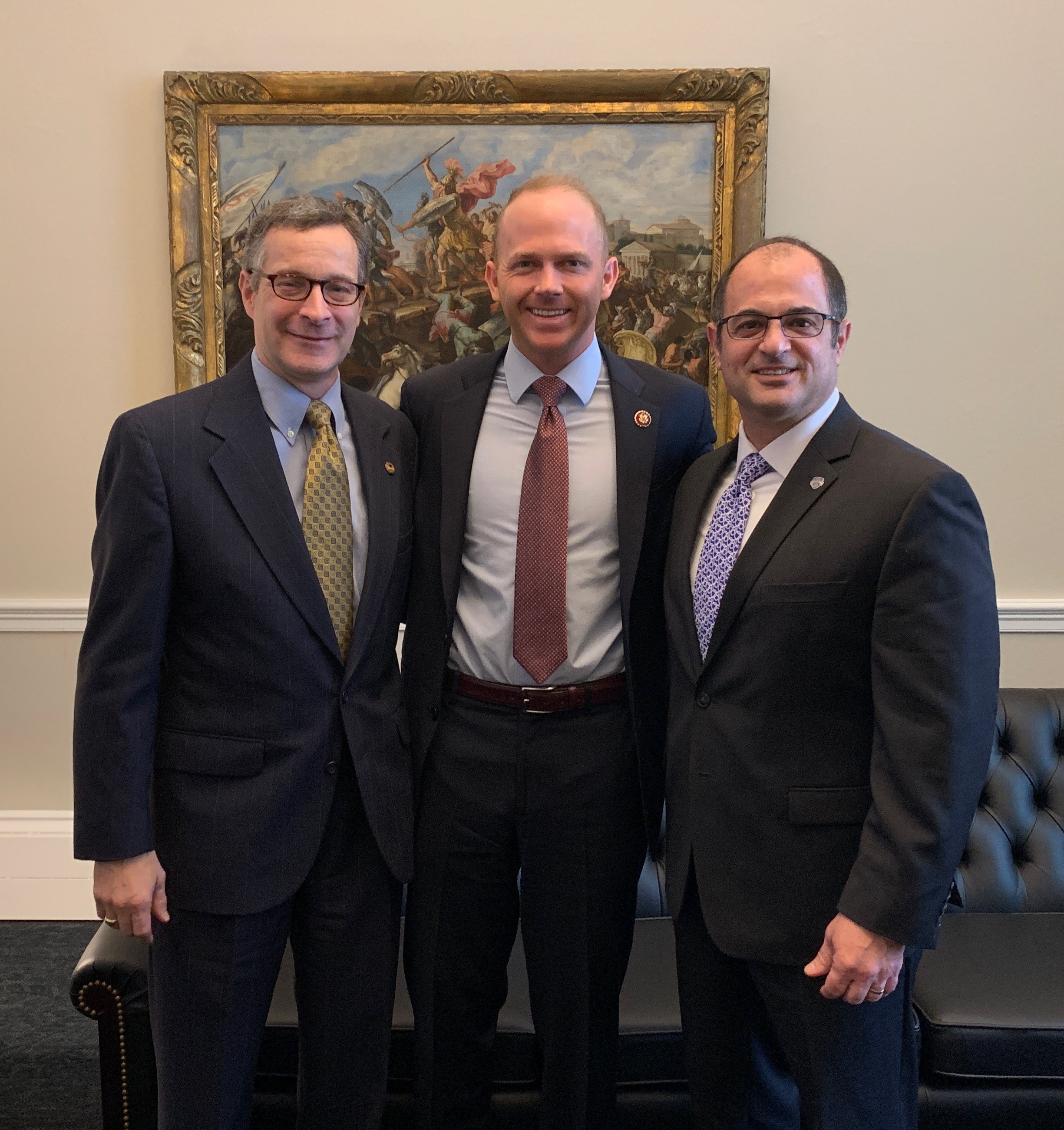 SCICU's Jeff Perez and Spartanburg Methodist's Scott Cochran met w/ Rep. William Timmons on NAICU Advocacy Day on Feb. 5.
