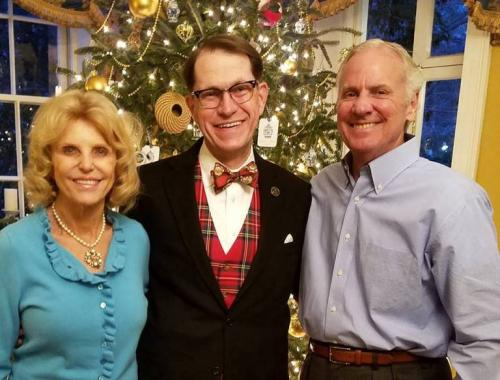 SCFirst Lady Peggy McMaster; Tommy Windsor, Limestone College Alum/Board of Trustees Member and SC Governor's Office Director of Boards and Commissions; and SC Governor Henry McMaster