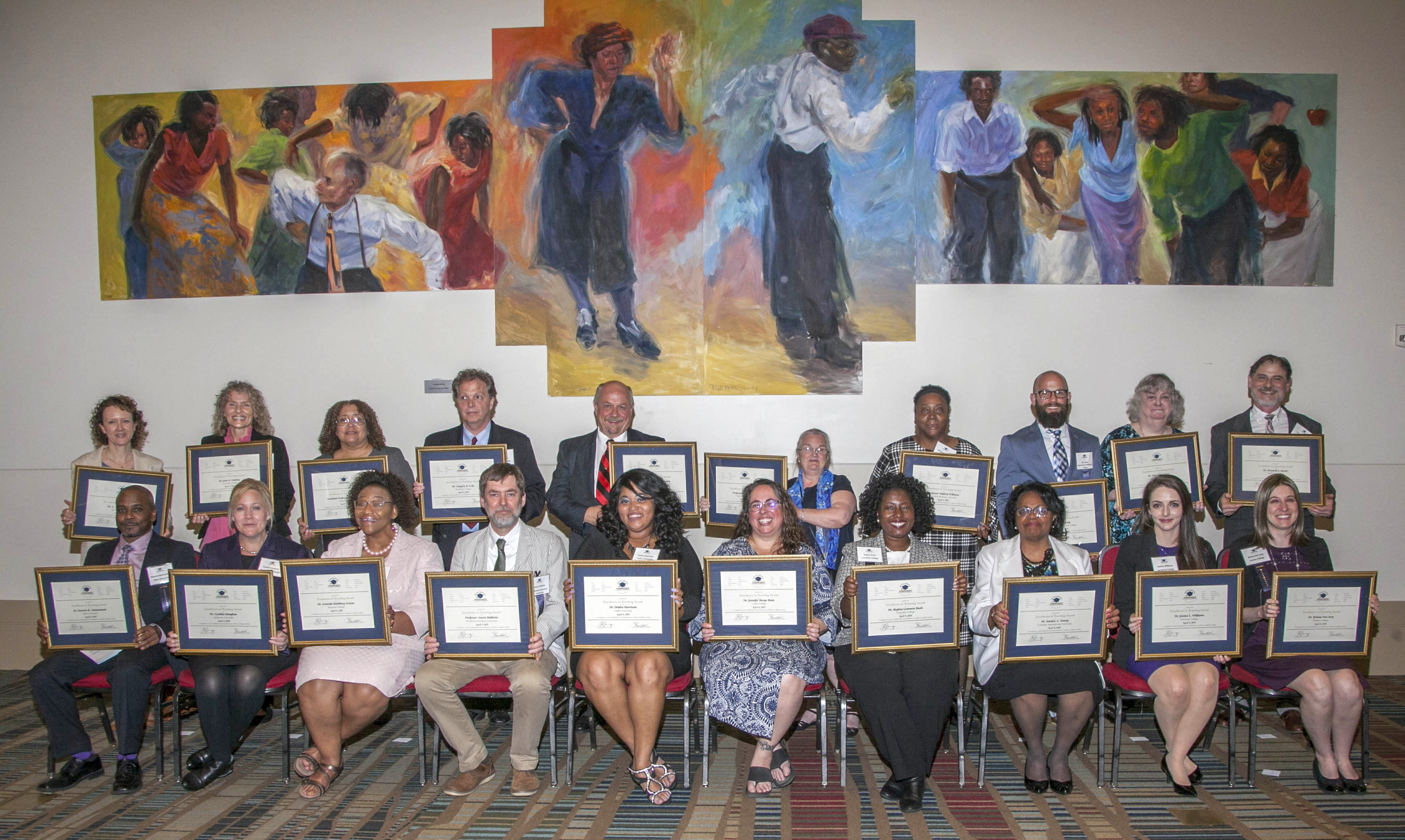 Leading professors at SCICU's 20 member colleges and universities were honored with Excellence In Teaching awards on April 9. The awards dinner kicked off the 2019 SC Independent Colleges and Universities week.