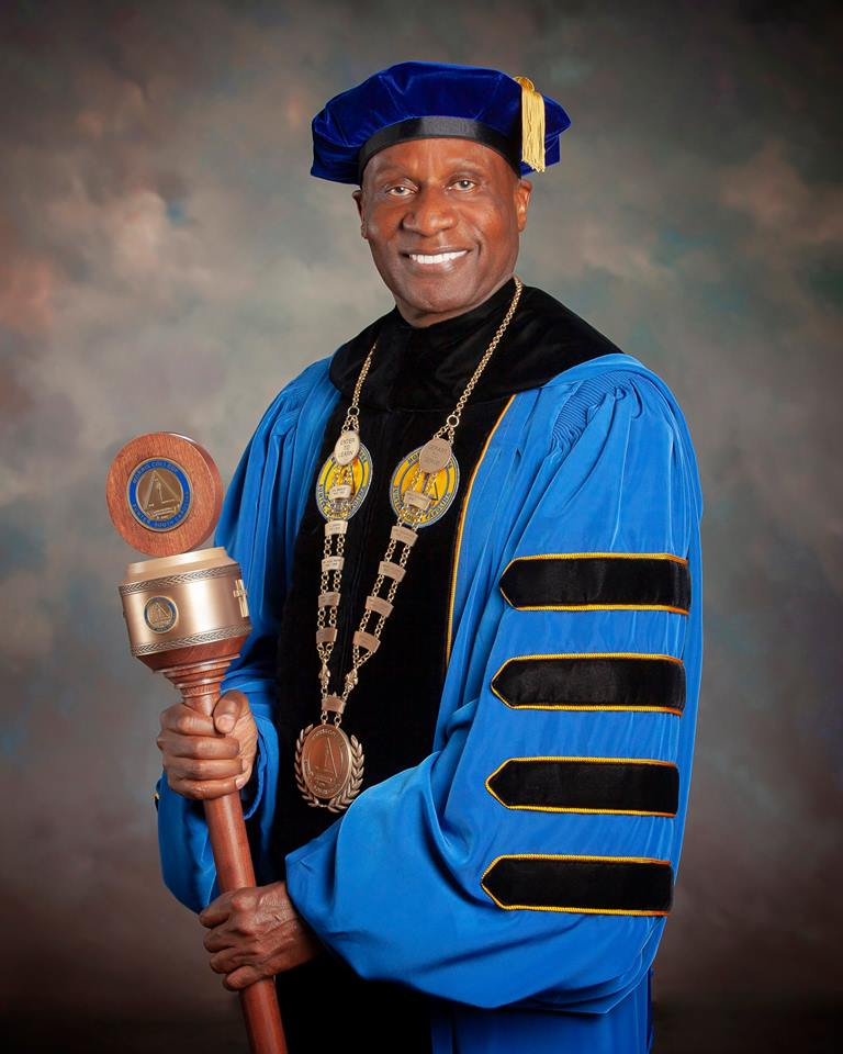 Dr. Leroy Staggers Tenth President Morris College
