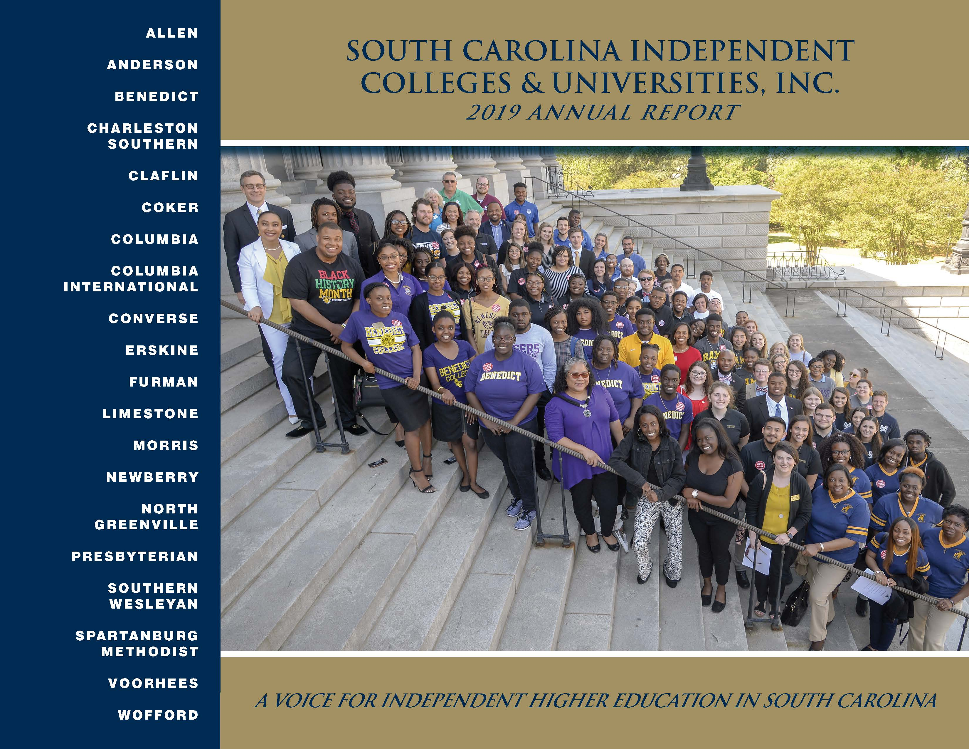 SCICU Annual Report - 2018-2019